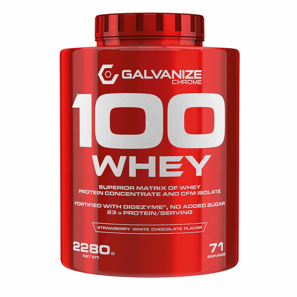 Galvanize Chrome 100 Whey Protein