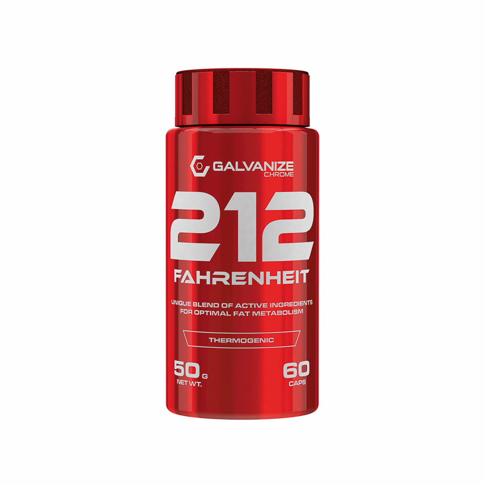 Diététique Galvanize Chrome 212 Fahrenheit