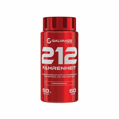 Diététique 212 Fahrenheit Galvanize Chrome - Fitnessboutique