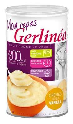 Hyperprotéinés Sucrés Crème Repas GERLINEA Boîte de 540 g ...
