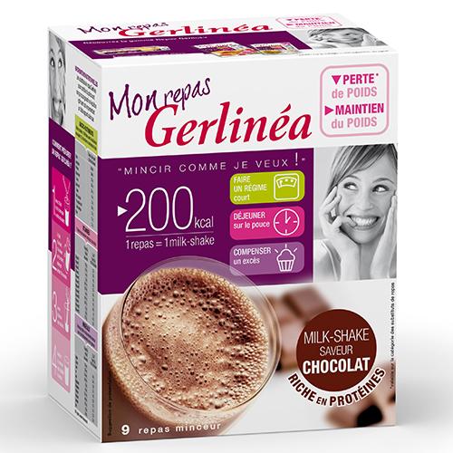 Hyperprotéinés Sucrés Milk Shake GERLINEA Etui de 9 ...