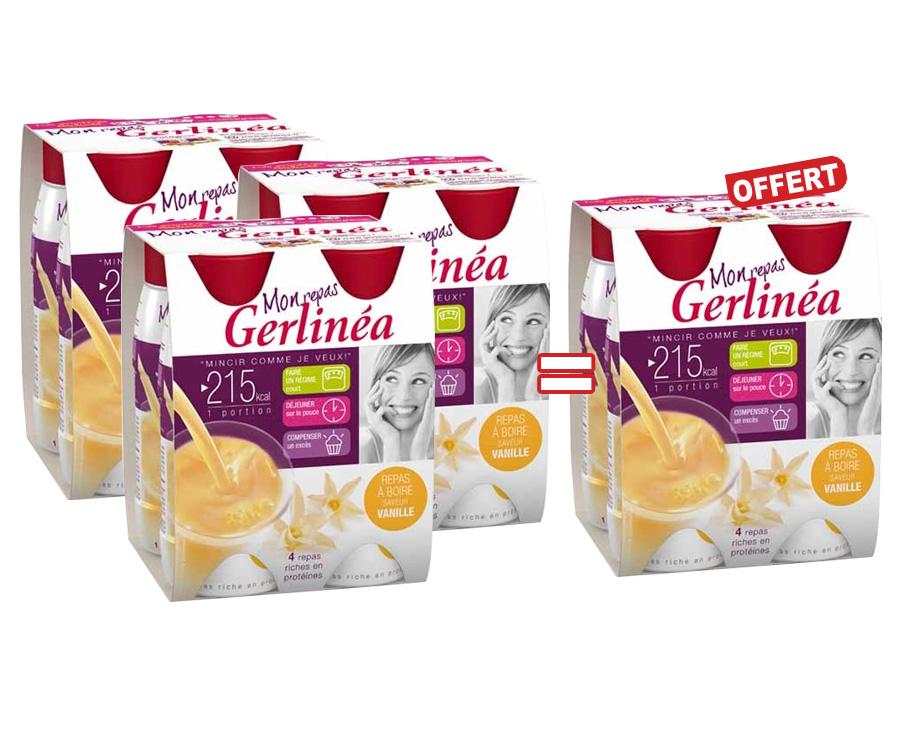 Hyperprotéinés Sucrés - Gerlinea Offre en Lot Repas a