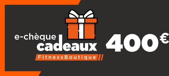 Fitnessboutique Chèque-cadeaux 400€