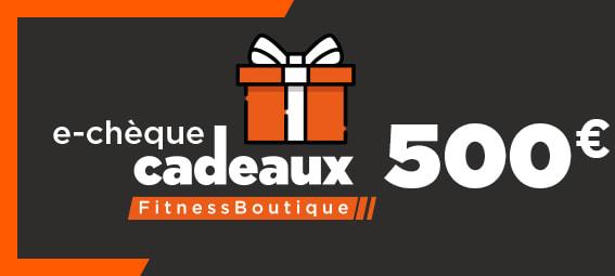 Fitnessboutique Chèque-cadeaux 500€