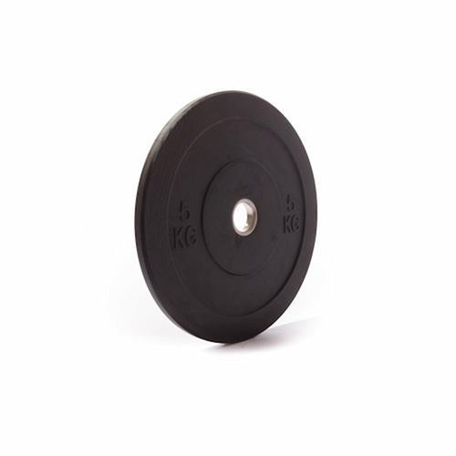 Disque Olympique - Diamètre 51mm GorillaGrip Paire de Bumpers Plate IWF - 5 KG