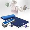 Natte de gym - Tapis de protection Pack Pump Pro