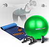 Natte de gym - Tapis de protection Pack Standard