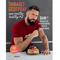 Librairie - Musique Thibault Geoffray - Mes recettes Healthy 2 Hachette - Fitnessboutique