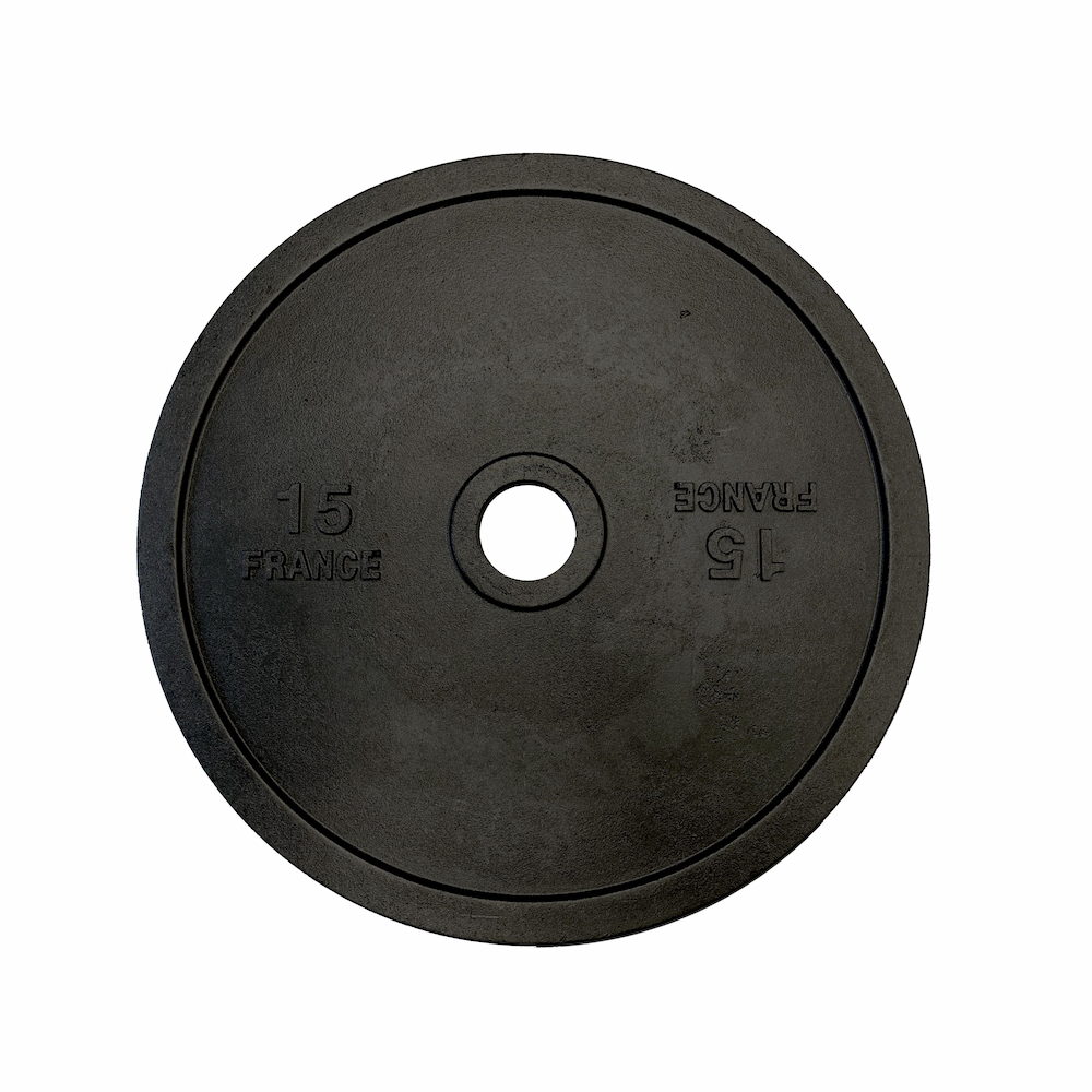 Heubozen Disque de fonte olympique 51 mm - 15 kg