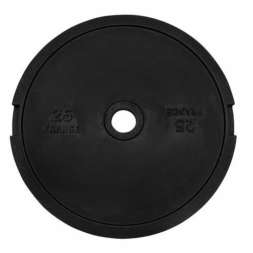 Disque Olympique - Diamètre 51mm Heubozen Disque de fonte olympique 51 mm - 25 kg