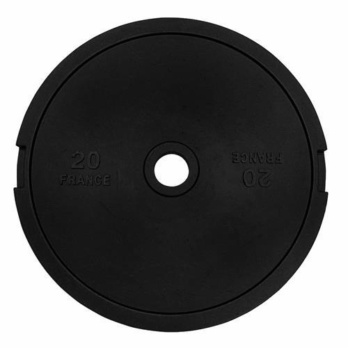 Disque Olympique - Diamètre 51mm Heubozen Disque de fonte olympique 51 mm - 20 kg