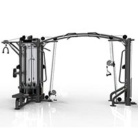 Appareil de musculation Jungle Machine 5 Postes Heubozen - Fitnessboutique