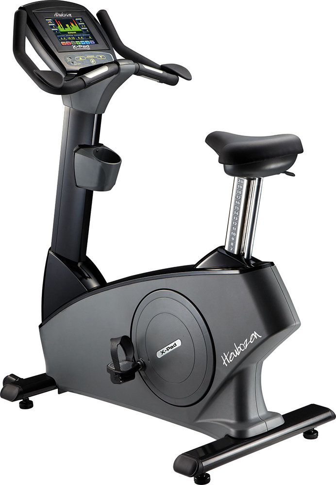 V lo d 39 appartement heubozen upright bike x pad noir gris - Velo d appartement biking ...