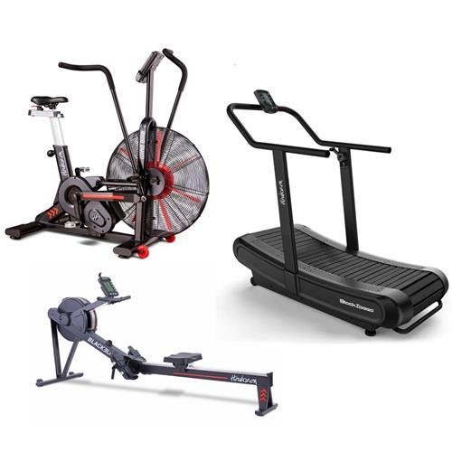 Fitness Heubozen Blackspeed + WindBike + Blackelite