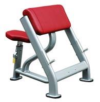 Poste pour les bras Bh fitness Seated scott curl