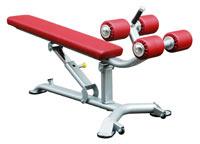 Poste abdominaux Bh fitness Crunch Bench