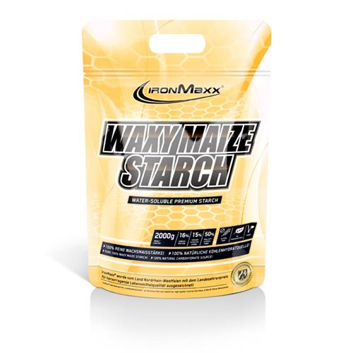 pre workout Waxy Maize Starch IronMaxx - Fitnessboutique