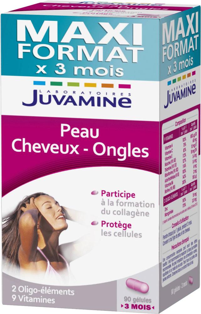 Juvamine Peau Cheveux Ongles Maxi Format