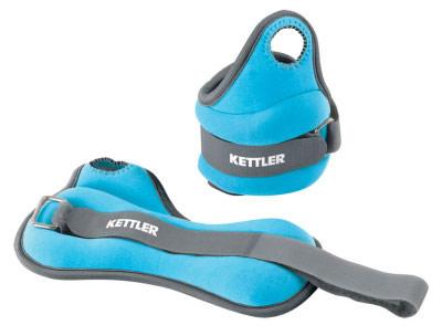 Bandes lestées Kettler Bracelets Lestés 1 kg (la paire) bleu