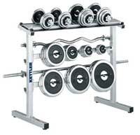 Appareil de fitness Range disques et haltères Reconditionné Kettler - Fitnessboutique