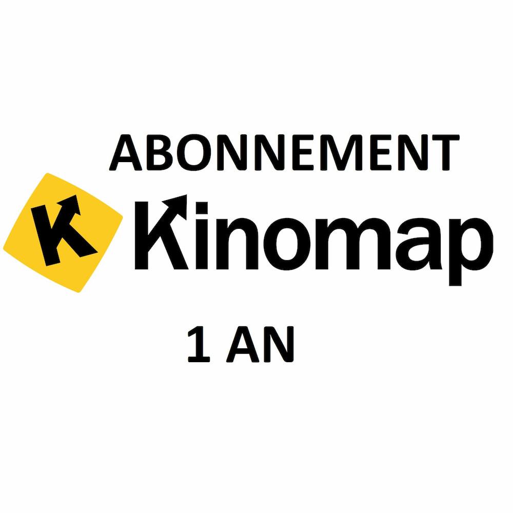 Kinomap Abonnement 1 an Kinomap