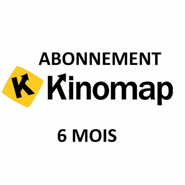 Kinomap Abonnement 6 mois Kinomap