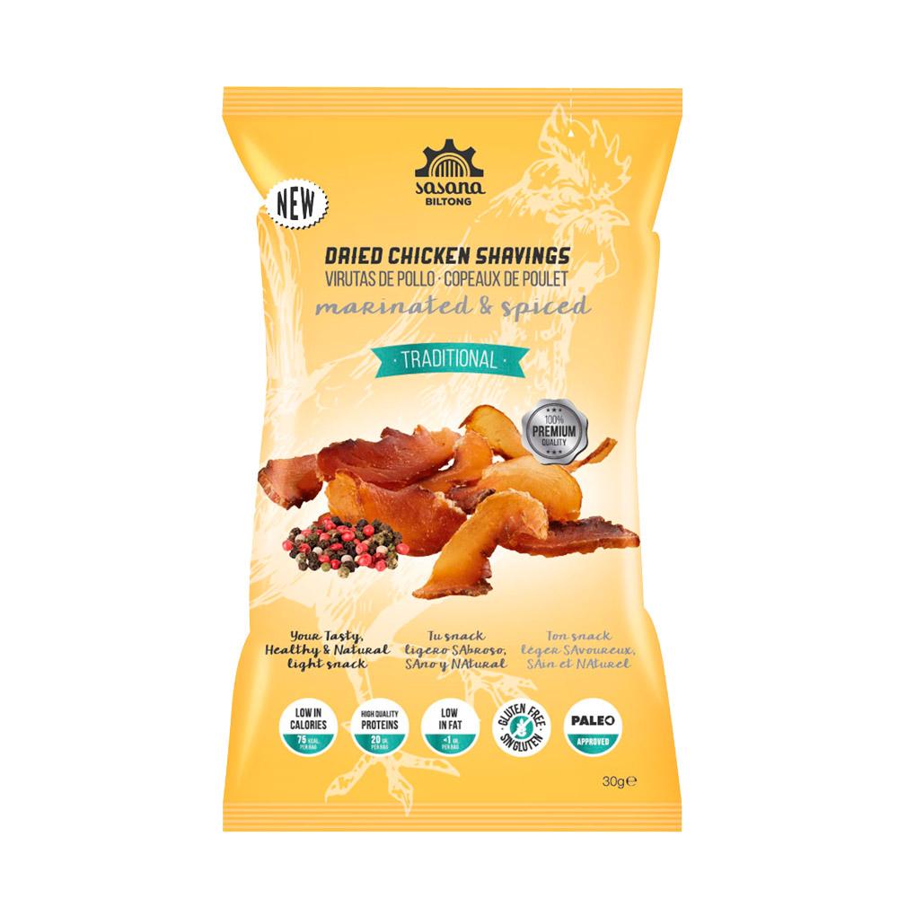 Kubdu Gourmet Sasana Biltong Chicken Snacks