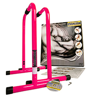 Barres - Kit Body Pump Lebert Fitness Deux Barres Roses, DVD et Poster inclus