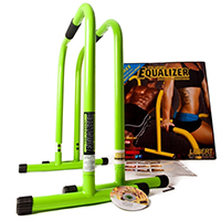 Barres - Kit Body Pump Lebert Fitness Deux Barres Vertes, DVD et Poster inclus