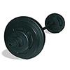 Barres et haltères spécifiques Kit de Pump DON OLIVER Barre + Colliers + Jeu Poids