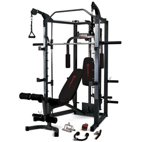 appareil de musculation eclipse deluxe cage rs 7000 marcy indisponible fitnessboutique. Black Bedroom Furniture Sets. Home Design Ideas