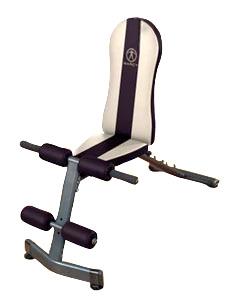 Banc de musculation marcy sb222 banc simple planche abdominale fitnessboutique - Tapis de musculation abdominale ...