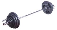 Musculation Marcy Ensemble Olympique à poignées 142 kg