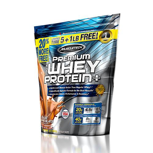Protéines Muscletech 100% Premium Whey Protein Plus