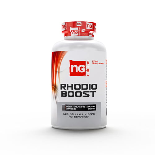 pre workout NG Nutrition Rhodio Boost