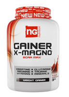 Prise de masse NG Nutrition Gainer X Magno 2