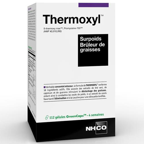 Sèche - Définition NHCO Nutrition Thermoxyl