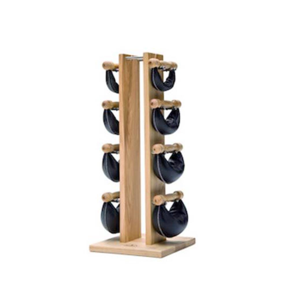Nohrd Tour frêne avec poids cuir noir 2.4.6.8 kg