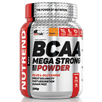 Acides aminés Nutrend BCAA Mega Strong Powder