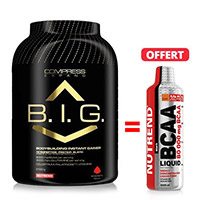 Prise de masse NUTREND Pack Compress BIG BCAA 1000