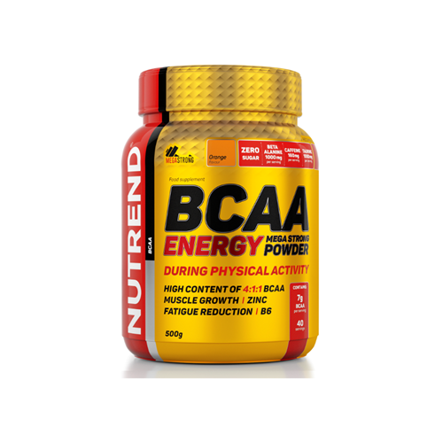 Acides aminés Nutrend BCAA Energy Mega Strong Powder