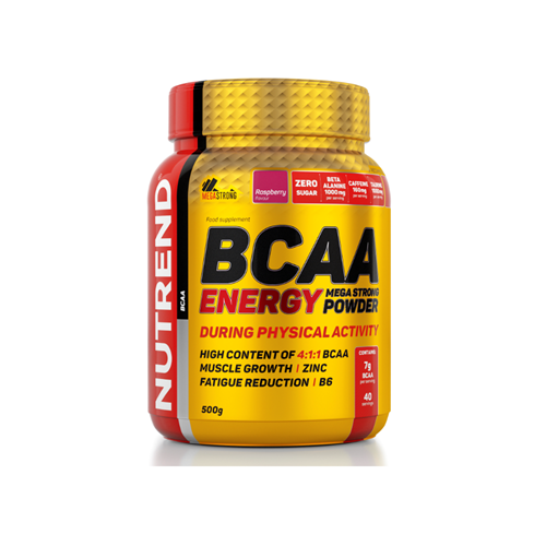 BCAA Nutrend BCAA Energy Mega Strong Powder