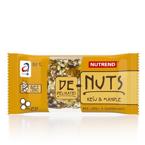 Barres Énergétiques De Nuts Nutrend - Fitnessboutique