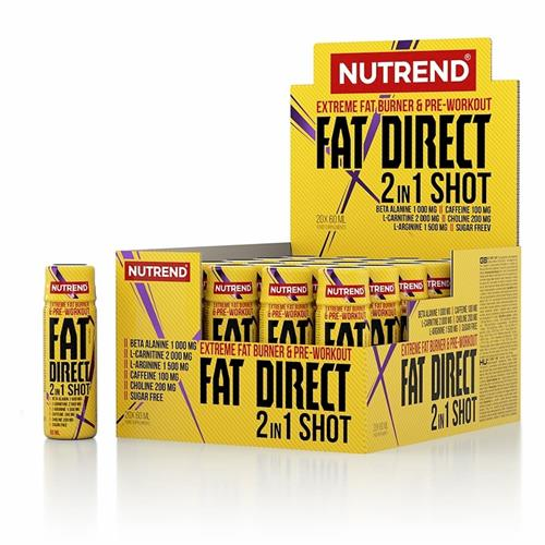 Brûleurs de graisse Fat Direct Shot Nutrend - Fitnessboutique