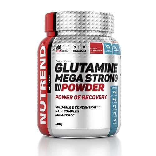 Acides Aminés Glutamine Mega Strong Powder