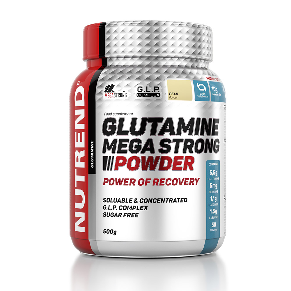 L-glutamine Nutrend Glutamine Mega Strong Powder