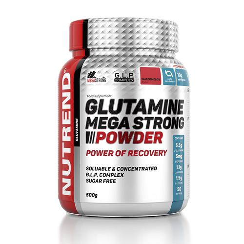 Acides aminés Nutrend Glutamine Mega Strong Powder
