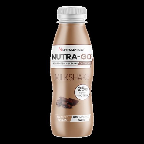 Prêts à Boire Nutramino Nutra-Go Protein Milkshake