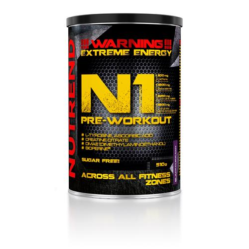 Congestion-N.O. Nutrend N1 Pre WorkOut