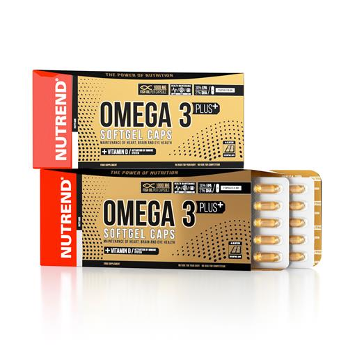Oméga 3 Nutrend Omega 3 Plus Softgel Caps